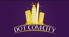 dot com city logo